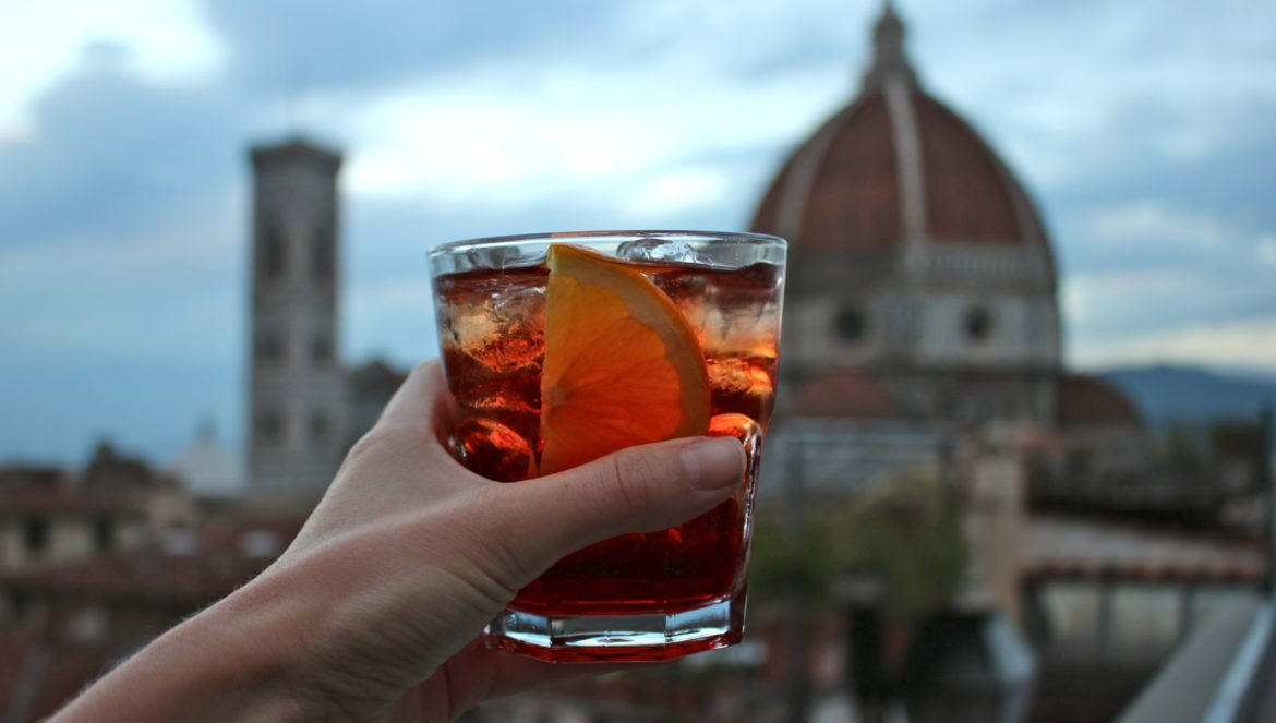 Spritz Rooftop. Florence, Italy
