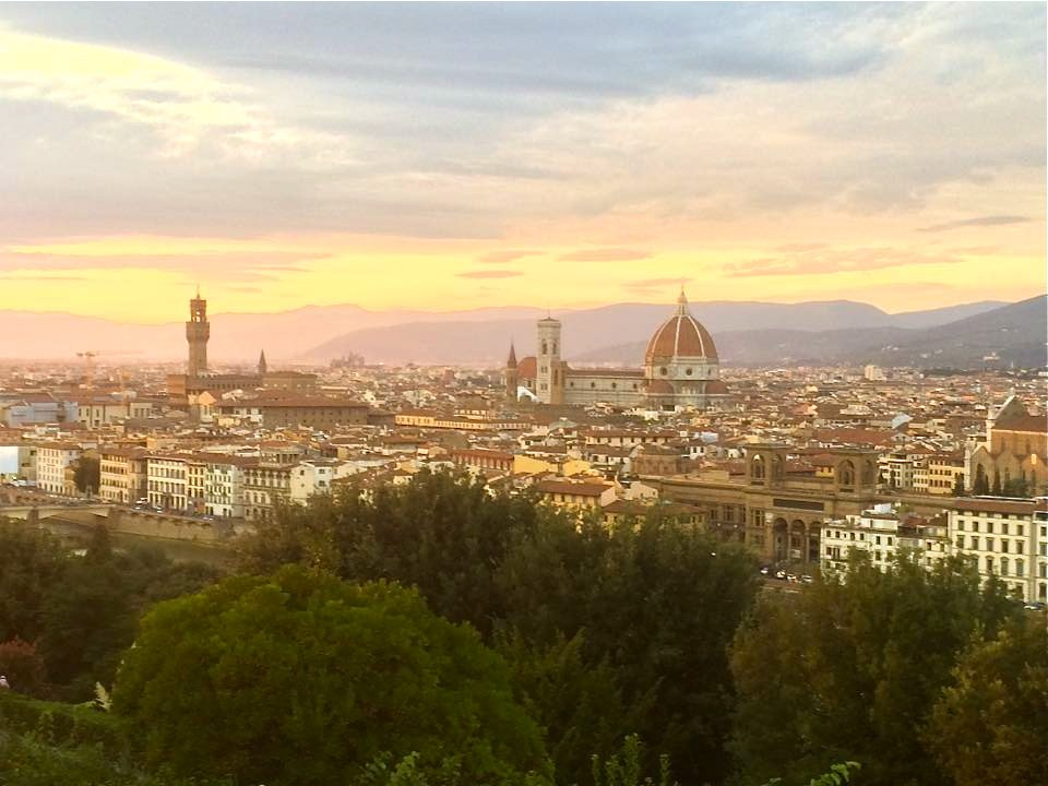 Sunset. Florence, Italy.