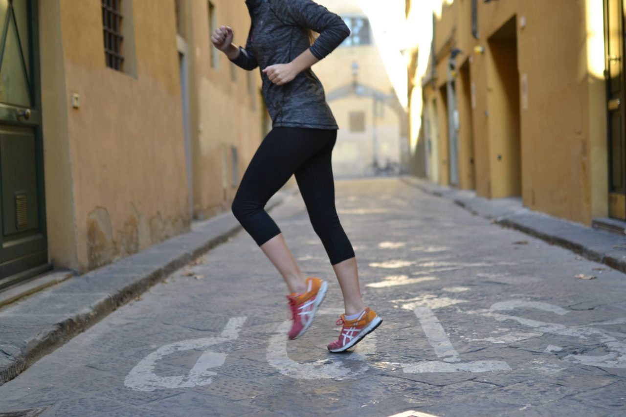 Running. Florence, Italy