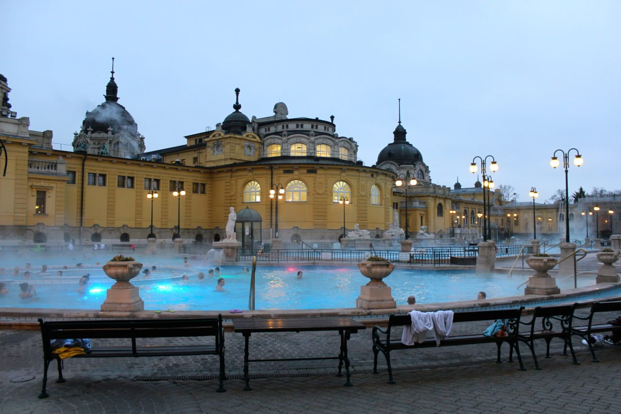 Thermal Bath. Budapest, Hungary.