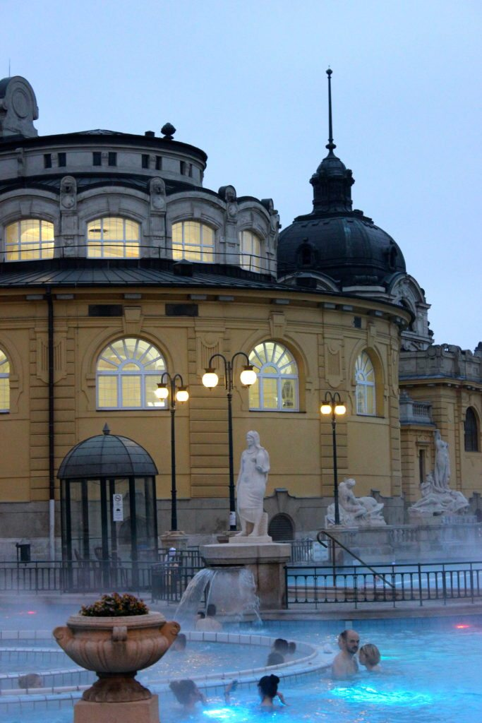 Thermal Baths. Budapest, Hungary.