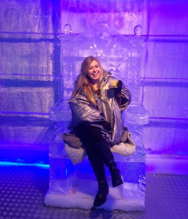 Ice Bar, Prague.
