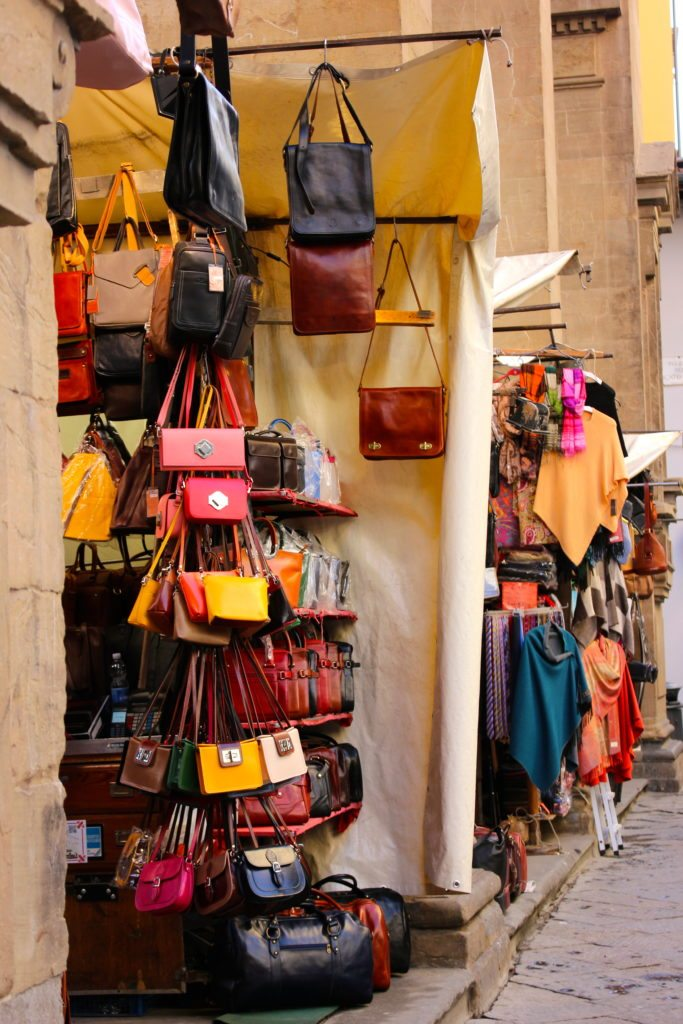 Leather Markets. Florence, Italy.
