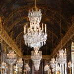 Versailles. Hall of Mirrors.