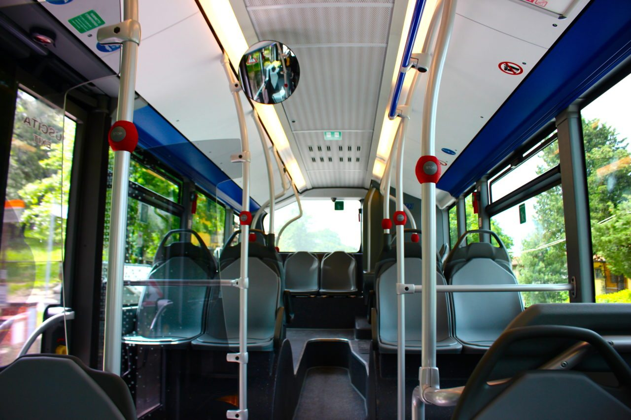 Riding the Bus In Italy