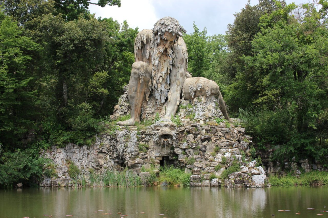 Italian Florence: Florence Finds: Colossal Statue Just A Bus Ride Away