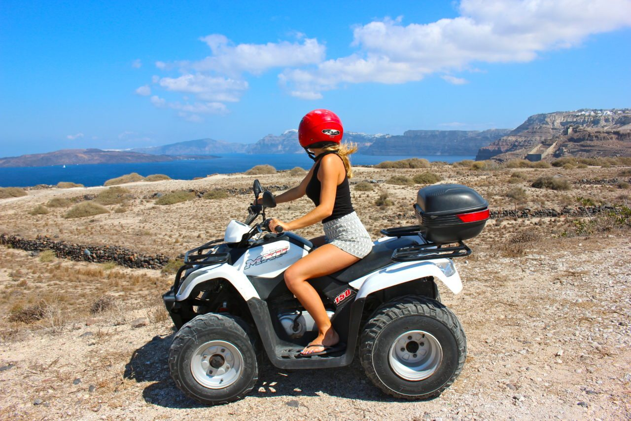 ATV Santorini Greece