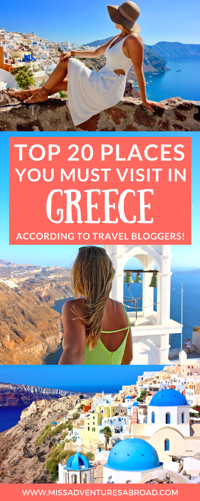 20 stunning destinations in greece travel bloggers love for Top 20 vacation destinations
