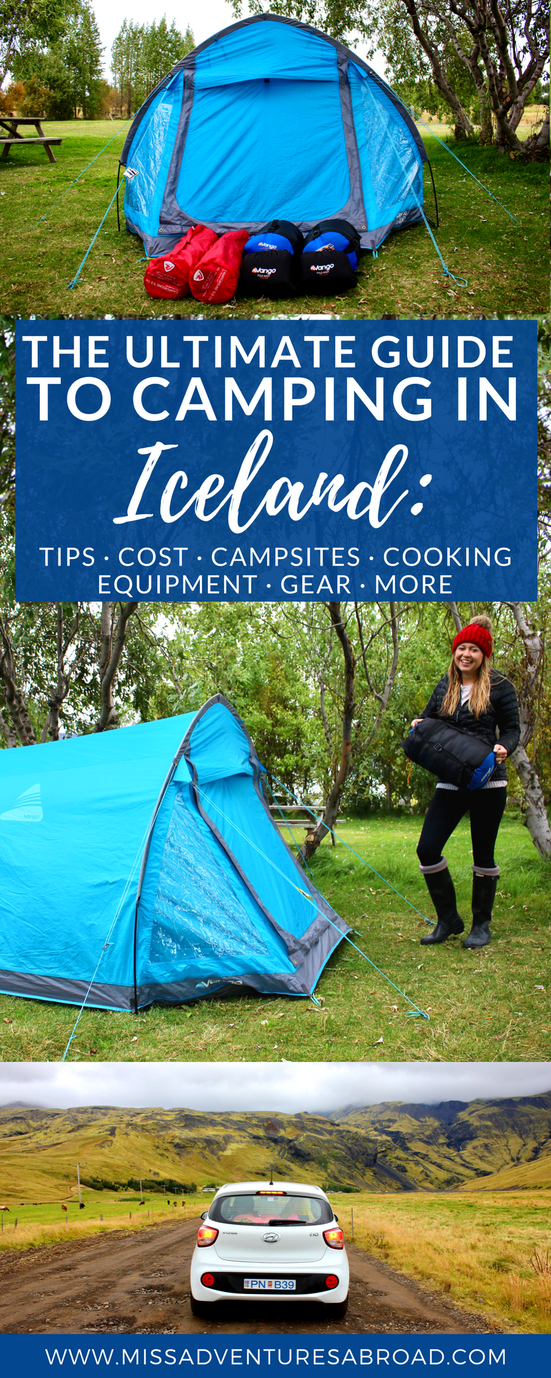 CAMPING ICELAND PIN & The Ultimate Guide To Camping In Iceland - Miss Adventures Abroad