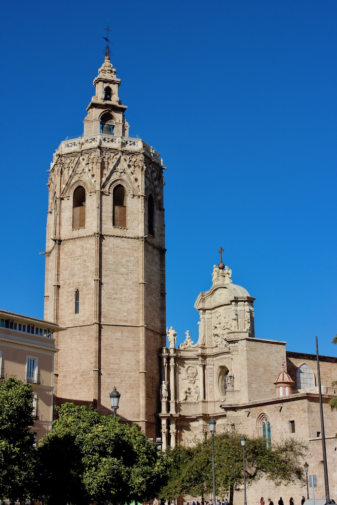 The view of the Cathedral from the Plaza!